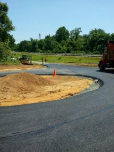 commercial paving Howard County