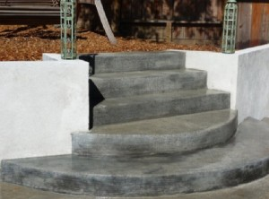 Concrete steps Howard County