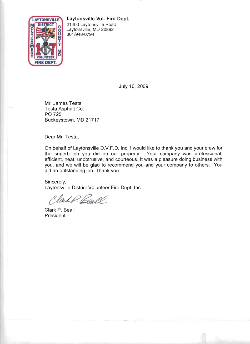 Commercial paving testimonial
