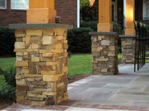 hardscaping columns contractor