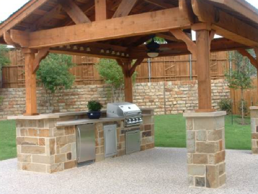 outdoor kitchen contractor