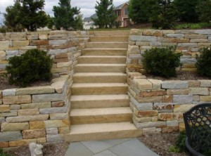 hardscaping steps