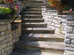 Steps hardscaping